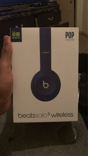 Beats solo3 wireless for Sale in Maumelle, AR