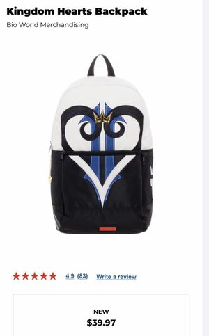 Kingdom Hearts Backpack for Sale in Chula Vista, CA