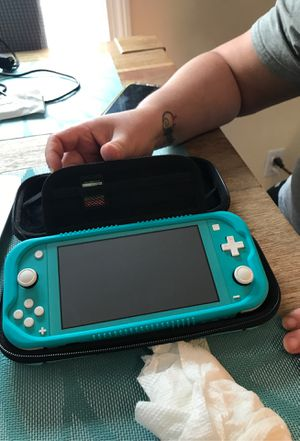 Nintendo switch lite with animal crossing for Sale in Peabody, MA