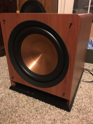 Klipsch. 12 powered subwoofer for Sale in Plymouth, MI