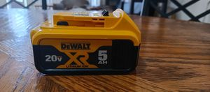 Dewalt battery 20v XR Lithium ion 5AH for Sale in Sunrise, FL