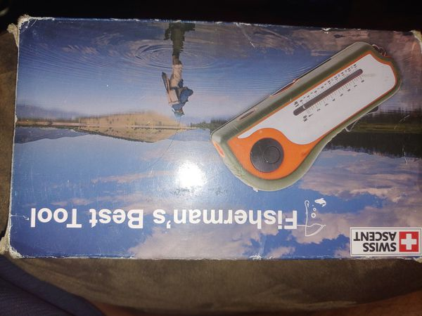 Swiss Ascent 10 In 1 Fishing Multitool