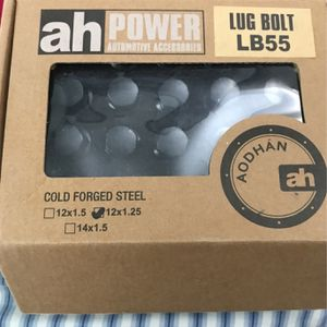 M12x1.25 Black Lug Nut Nd Bolt for Sale in Itasca, IL