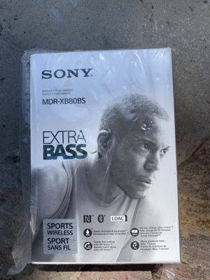 Sony extra bass sports wireless headphones for Sale in San Jose, CA