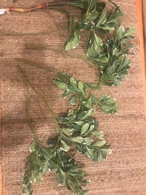 Faux fake silk plant leaves stems - greenery - decor for Sale in Tacoma, WA