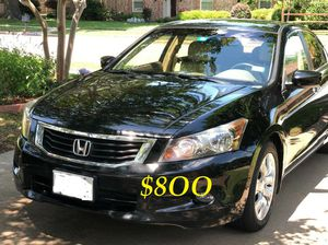 🔥🔥$8OO URGENT I sell my family car 2OO9 Honda Accord Sedan V6 EX-L 𝓹𝓸𝔀𝓮𝓻 𝓢𝓽𝓪𝓻𝓽 Runs and drives very smooth.🍁🍁 for Sale in Wichita, KS