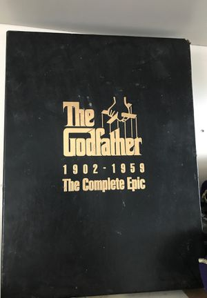 God father vhs for Sale in Colorado Springs, CO