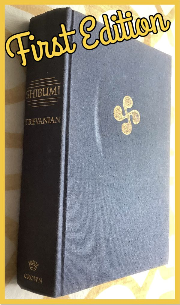 Shibumi Trevanian first edition