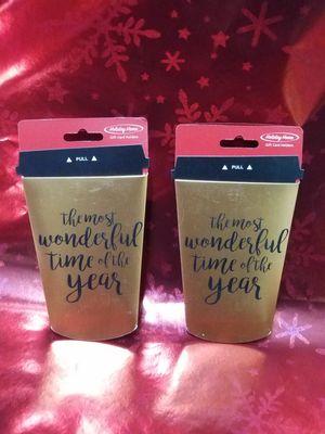 Christmas gift card money holders for Sale in Arlington, TX
