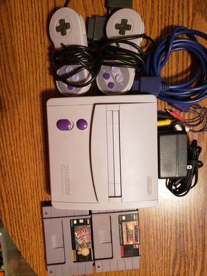 Super Nintendo jr bundle for Sale in Mt. Juliet, TN