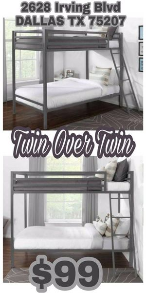 Twin Over Twin Bunk Beds for Sale in Dallas, TX