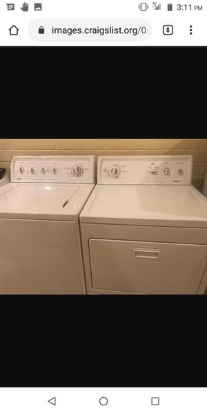 Kenmore washer & dryer good condition free delivery for Sale in Kansas City, MO