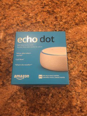 Brand New Amazon Echo Dot for Sale in Falls Church, VA