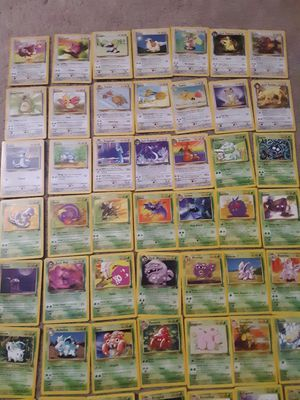 125 Pokemon Cards Base, Base Set 2, Jungle, Fossil, Team Rocket for Sale in Chantilly, VA