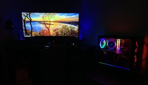"""Upgraded CyberPowerPC including ASUS ROG 35"""" Curved Gaming Monitor (XG35VQ) for Sale in Woodbridge, VA"""