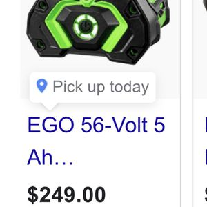 Ego 56v Lithium Rechargeable Battery Pack for Sale in San Antonio, TX