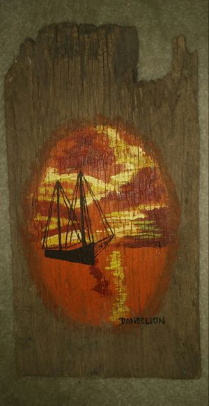Driftwood Sailboat At Sunset for Sale in Gaithersburg, MD