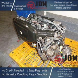 88-91 HONDA CIVIC CRX 1.6L DUAL CARB ENGINE & AUTO TRANSMISSION JDM ZC for Sale in Orlando, FL