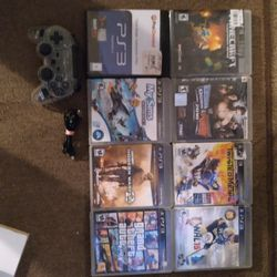 PS3 games, One Controller, $5 Each for Sale in Detroit,  MI
