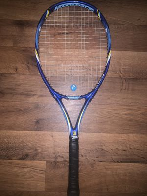 Adult Tennis Racket - Wilson Aggressor Control 10s for Sale in Denver, CO
