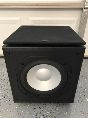 Monitor Audio FB110 subwoofer silver 300 watts for Sale in Las Vegas, NV