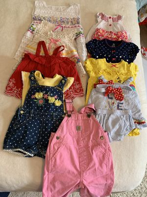6-9 month girl clothing lot for Sale in Fairfax, VA