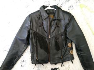 Ladies small leather jacket for Sale in Carmichael, CA