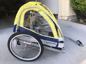 Schwinn Echo kids double bike bicycle trailer for Sale in San Diego, CA