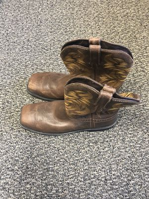 Steel toe leather boots for Sale in West Jordan, UT