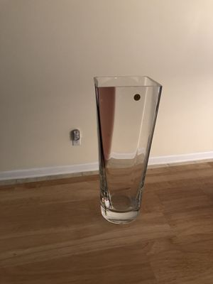 Nice Vase good for long stem roses—price reduction for Sale in Durham, NC