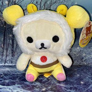 "New Rilakkuma Honey costume 7"" plush doll, San-x rilakkuma for Sale in Long Beach, CA"