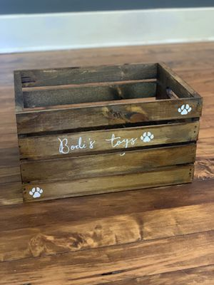 Custom dog toy wooden crates for Sale in Nashville, TN