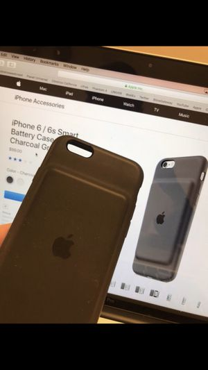 Apple Smart Battery Case for iPhone 6/6s for Sale in Wichita, KS