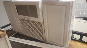 Cabinets with wine rack for Sale in Florence, NJ