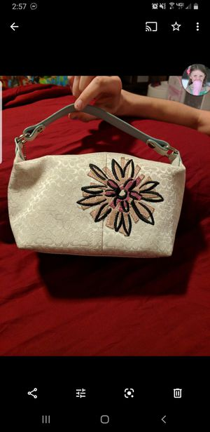 Like new Coach Rare Bumble Bee Flower Hobo Purse for Sale in South Elgin, IL