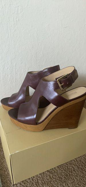 MICHAEL KOR Josephine Wedge Sandal Size 9 for Sale in Clovis, CA