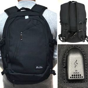 Brand NEW! Black Multipocket Traveling Backpack For Work/School/Traveling/Outdoors/Business/Sports/Gifts for Sale in Carson, CA