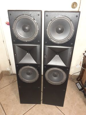 JBL HLS820 mid range speaker towers for Sale in Bakersfield, CA
