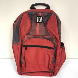 Ful backpack Black and Red laptop storage and lots of space for Sale in Indian Trail, NC