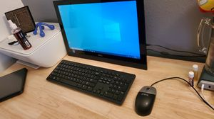 Computer touchscreen all on one Dell with keyboard and mouse. for Sale in Orlando, FL