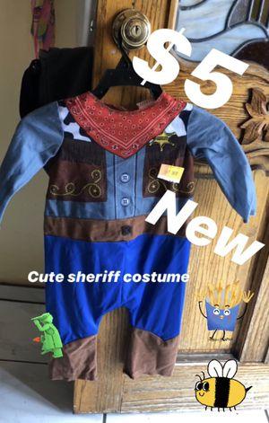Sheriff costume $5 kids for Sale in Bellflower, CA