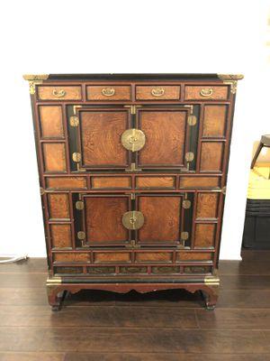 Antique Rare Asian Hutch Cabinet for Sale in Glendale, CA