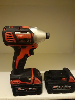 Milwaukee impact driver for Sale in Scottsdale, AZ