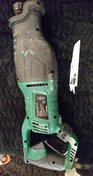 Master Force Reciprocating Saw for Sale in Monticello, IN