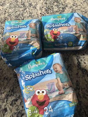 Huggies & pampers swimming diapers for Sale in Grand Prairie, TX