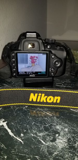 NIKON D3200 DIGITAL CAMERA for Sale in Vallejo, CA
