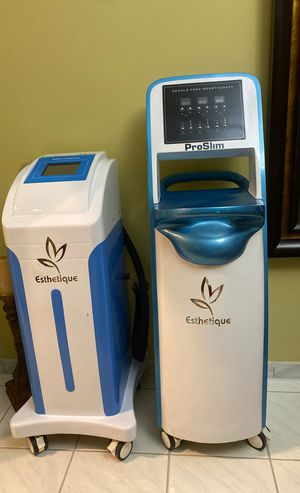 Needle Free Mesotherapy Machine + Radio Frequency Machine for Sale in Miami, FL