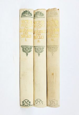La Legende des Siecles Books I, II, & III by Victor Hugo - Text in French - Hardcover Nelson Editors circa 1920's-30's for Sale in Trenton, NJ