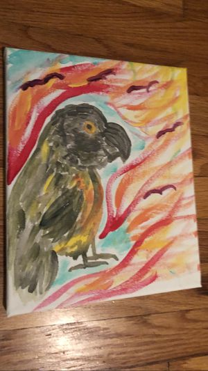 Senegal parrot painting for Sale in San Diego, CA