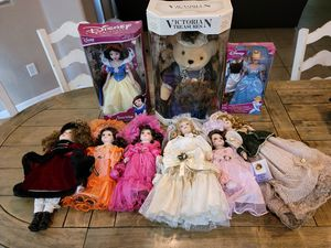 Dolls, Barbies and Teddy Bear. Prices in 2nd and 3rd pictures. for Sale in Phoenix, AZ